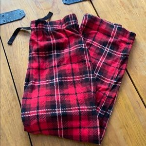 Old Navy Cozy Flannel PJs Bottoms Girls 10-12